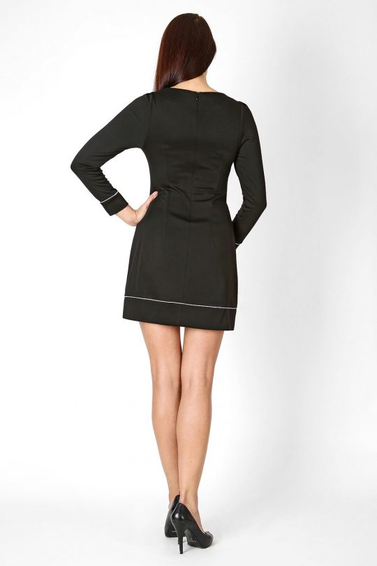 Sylwia dress, gray color