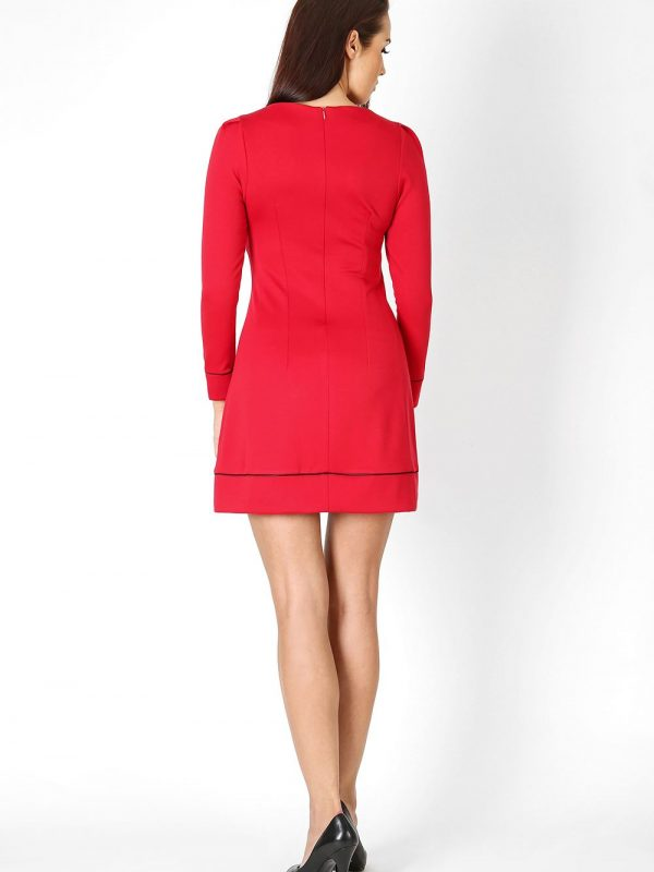 Sylwia dress in red