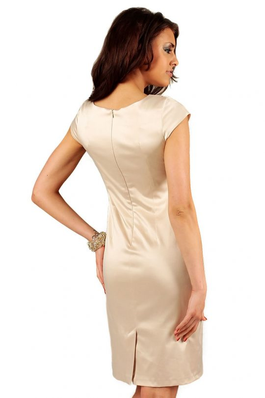 Tamara dress in beige