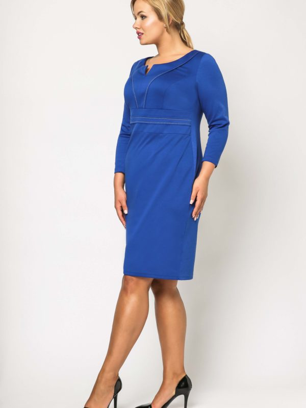 Cornflower Tamara Knitwear dress