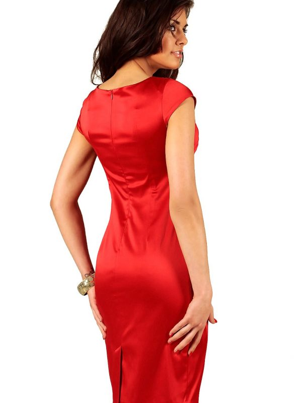 Tamara dress in red
