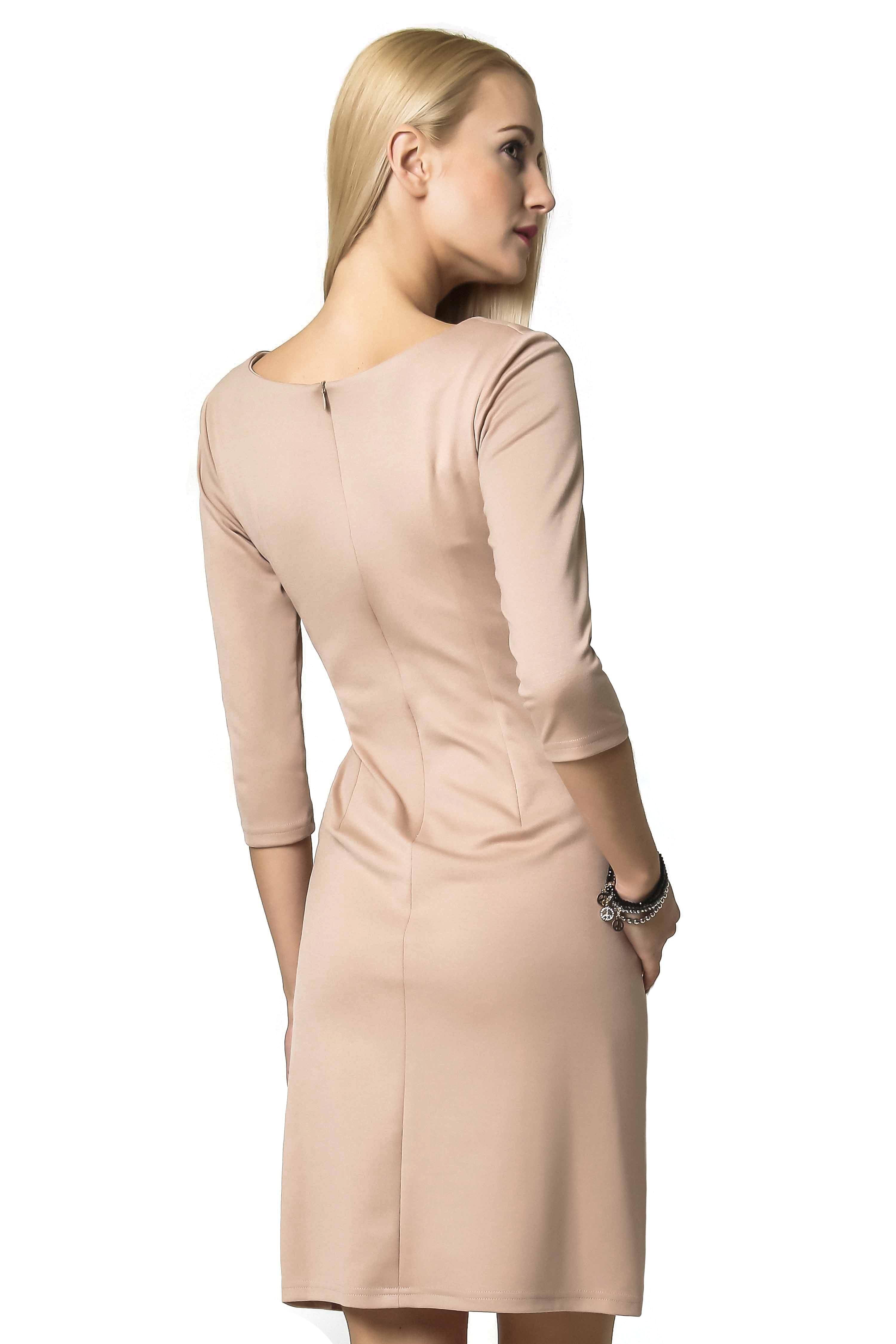 Tanya dress in beige