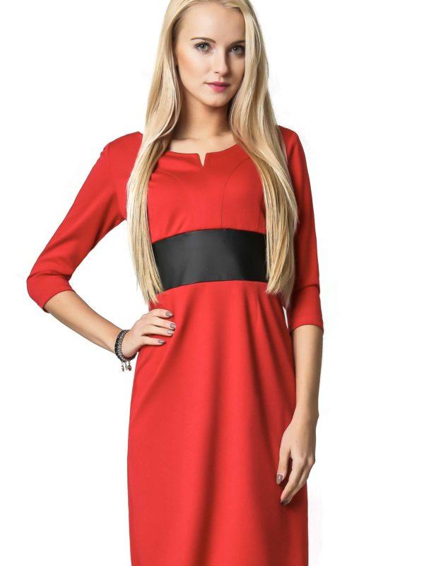 Sukienka Tanya w kolorze czerwonym