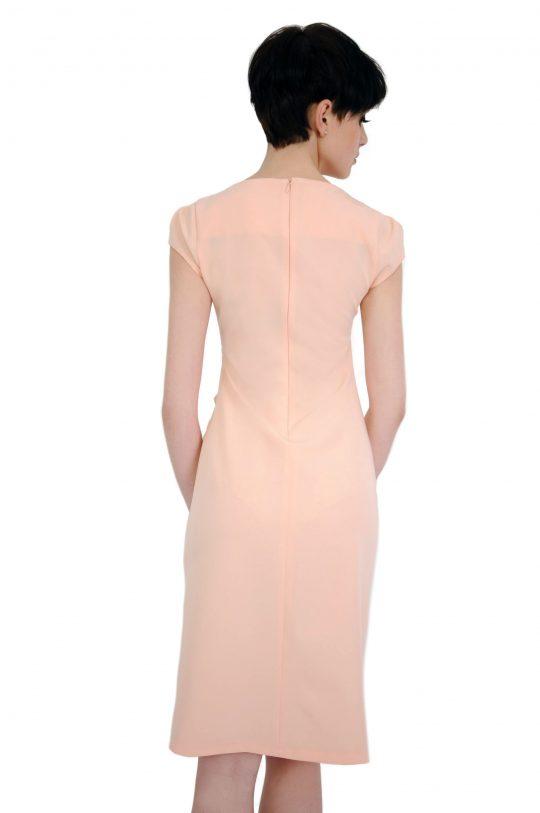 Tina dress in powder color