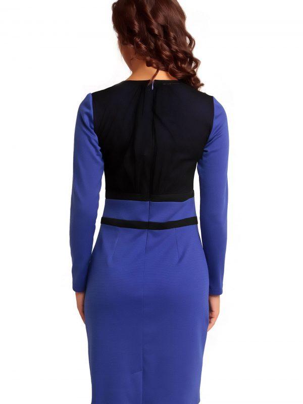 VALERIE KNITWEAR dress in sapphire color