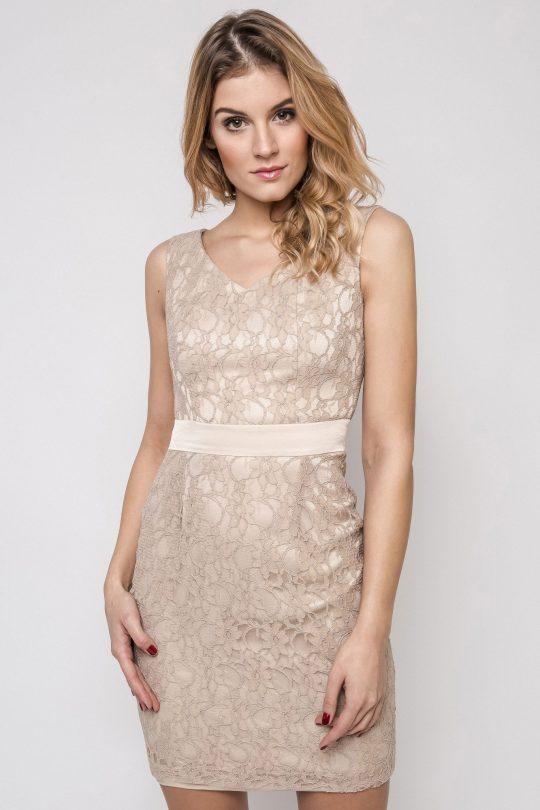 Vanda dress, beige