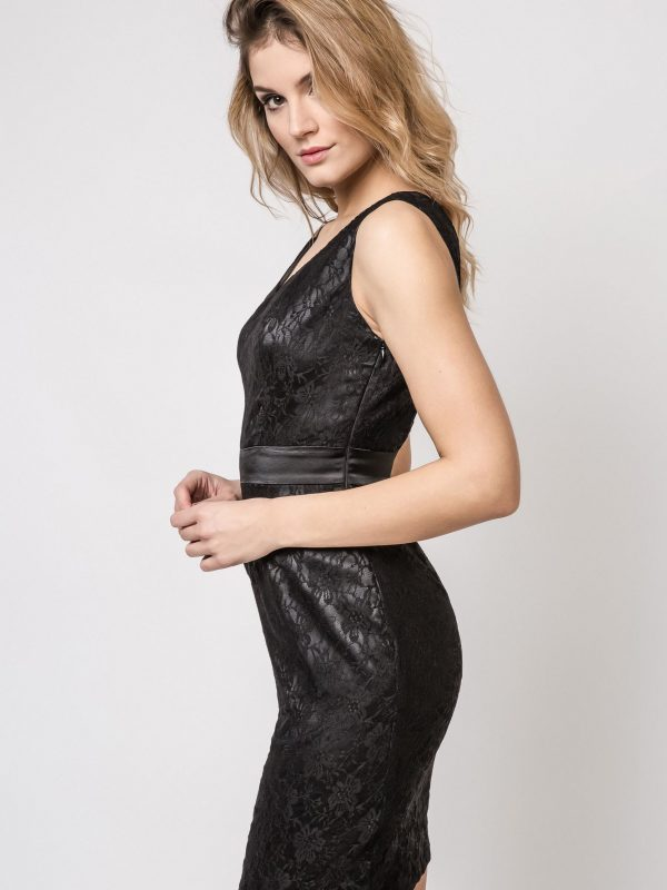 Vanda dress, black