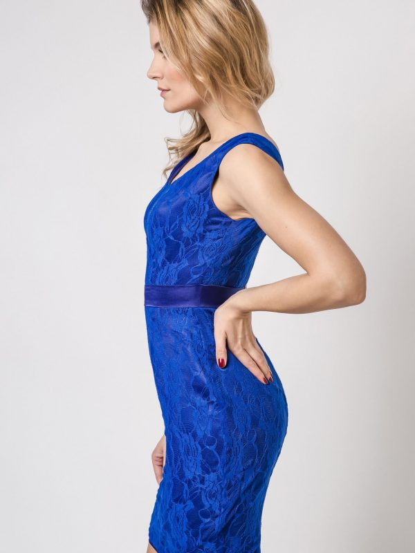 Vanda Dress in blue