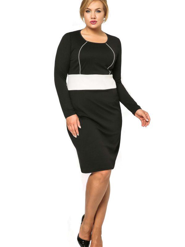 Sukienka Viktoria w kolorze czarnym