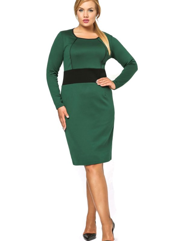 Sukienka Viktoria w kolorze zielonym