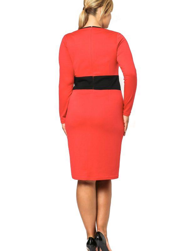 Viktoria dress in red