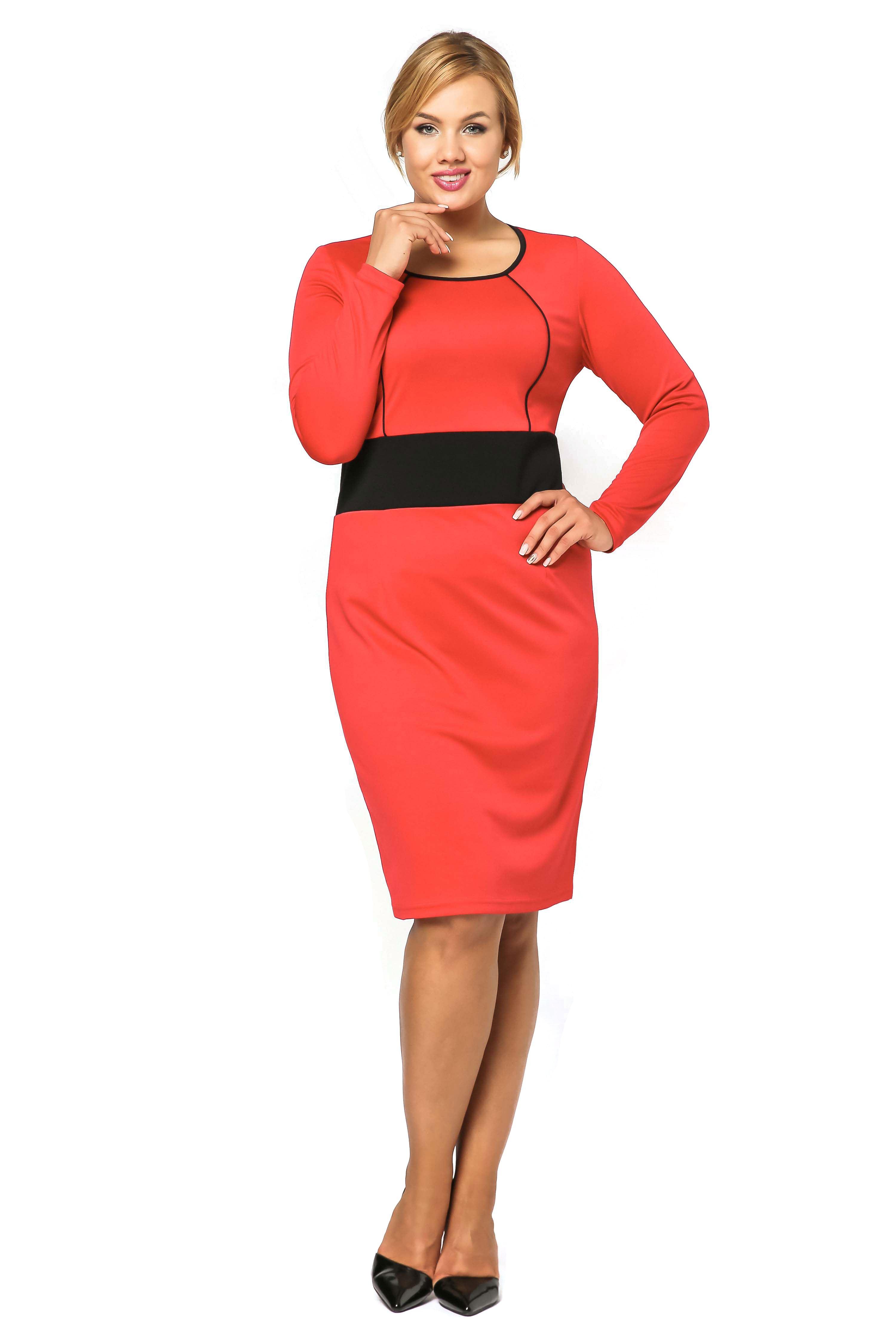 Sukienka Viktoria w kolorze czerwonym
