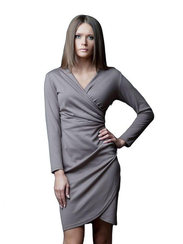 Sukienka Rebeka w kolorze beżowym