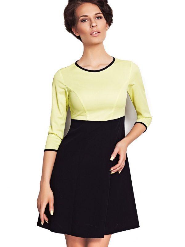 Sukienka Ruth w kolorze limonka