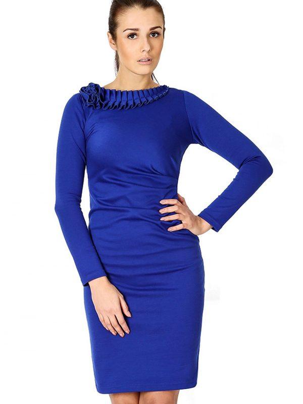 Sukienka Sara w kolorze niebieskim