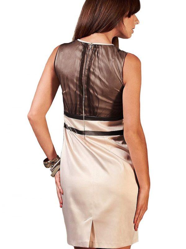 VALERIE dress in brown